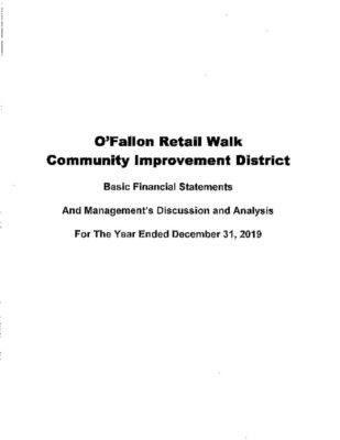 thumbnail of O'FALLON RETAIL WALK CID 2019 AUDIT REPORT