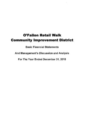 thumbnail of O'FALLON RETAIL WALK CID 2018 AUDIT REPORT