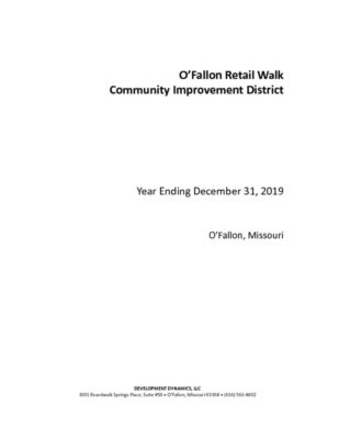 thumbnail of OFallon Retail Walk CID Annual Report 2019 – final